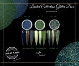Limited Collection Glitter Box + bijpassende kleuren gel polish_