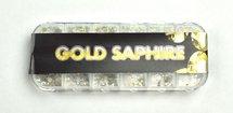 GOLD SAPPHIRE RHINESTONES