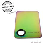 Gel Plate small Rainbow