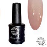 Rubber base gel shimmer pink gold 15ml