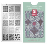 Moyra mini Stamping Plate 101 Angels will cry