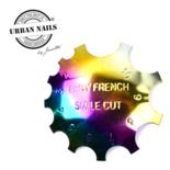 Rainbow Easy French cutter Set van 3