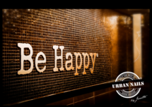 Poster A3: Be Happy