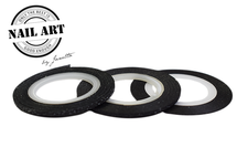 Striping Tape Black Glitter 1mm