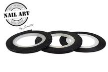 Striping Tape Black Glitter 2mm