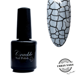 Crackle Nail Polish 01 wit