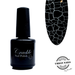 Crackle Nail Polish 02 zwart