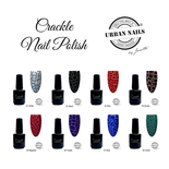 Crackle Nail Polish Collection 8x