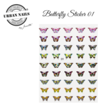 BUTTERFLY STICKER 01