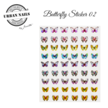 BUTTERFLY STICKER 02