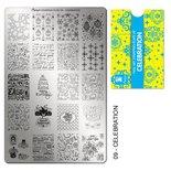 Moyra Stamping Plate 09 - Celebration
