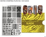 Moyra Stamping Plate 104 - Suede