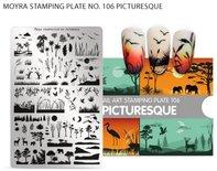 Moyra Stamping Plate 106