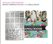 Moyra Stamping Plate 112 PRE ORDER