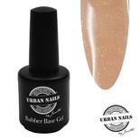 Rubber base gel Salmon Gold 15ml