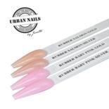 Rubber base gel Baby Pink  Silver 15ml