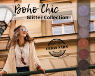 Boho Chic Glitter Collection