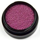 Caviar Beads 19 donker roze