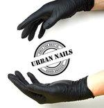 Urban Nails Nitril Handschoenen Black M