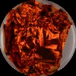 Bladgoud 03 oranjerood/koper