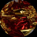 Bladgoud 05 rood/goud