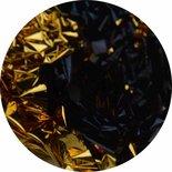 Bladgoud 07 zwart/goud