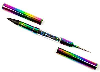 Urban Nails  Rainbow wax/dotting tool