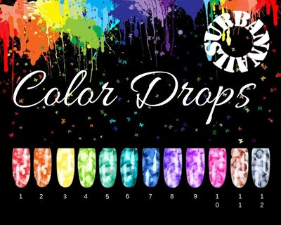 Color Drops  Set van 6