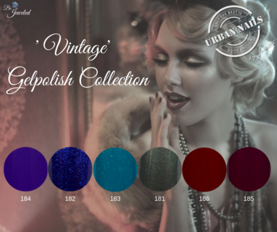 "Be Jeweled Gel Polish ""Vintage"" Collection"