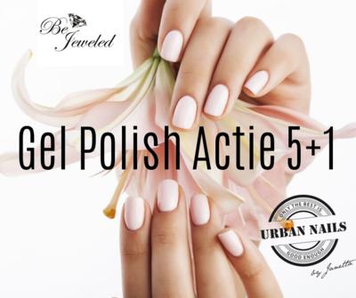 Be Jeweled Gel Polish 5+1 GRATIS