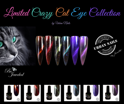 LIMITED CRAZY CAT EYE GEL POLISH COLLECTION