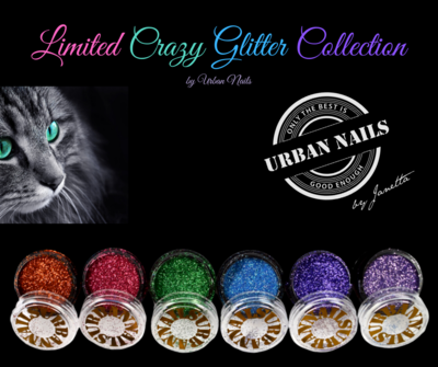 Limited Crazy Glitter Collection