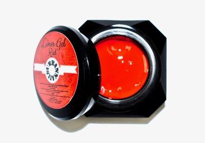 Liner Gel Red