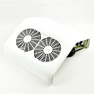 AFZUIGING DUST COLLECTOR 2 FAN WHITE
