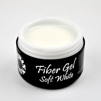 Fiber gel soft white 30g