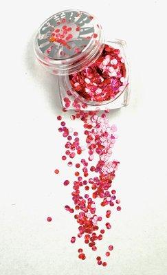 Mardi Gras 04 roze/pink