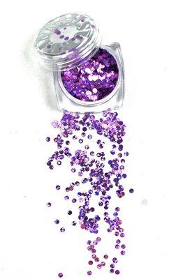 Mardi Gras 07 paars/purple