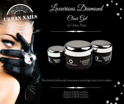LUXURIOUS DIAMOND CLEAR GEL 30G