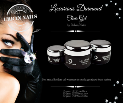 LUXURIOUS DIAMOND CLEAR GEL 50G