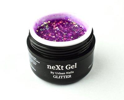 NEXT GEL GLITTER NGG06 PURPLE 15ML