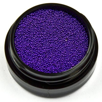 Caviar Beads 14 (donkerpaars)