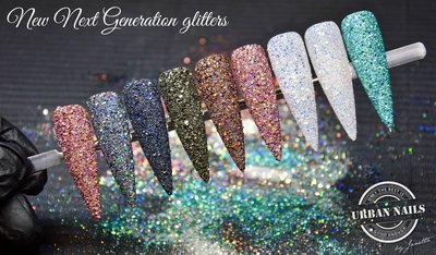 Workshop Nail Art Basics met Glitter/Folie/Pigmenten...