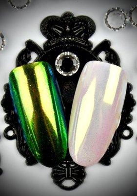 Urban Nails Parelmoer Pigment Groen