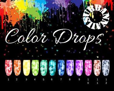 Color Drops  Set van 12