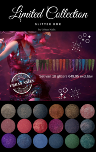 Limited Collection Glitter Box + bijpassende kleuren gel polish