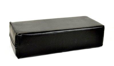 Armkussen zwart