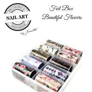 FOIL BOX BEAUTIFUL FLOWERS