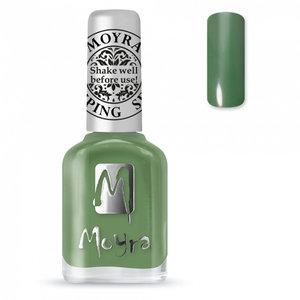 Moyra stamping nail polish SP14 Dark Green