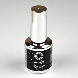 Urban Nails Sparkle Top Gel Zilver