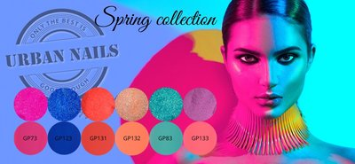 Urban Nails Spring Collection Glitters